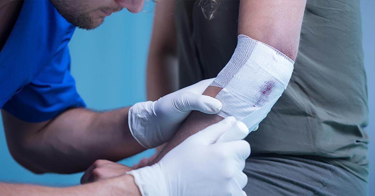 first aid myths paramedic dressing wound